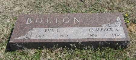 BOLTON, CLARENCE A - Chautauqua County, Kansas | CLARENCE A BOLTON - Kansas Gravestone Photos