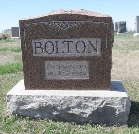 TYNER BOLTON, LYDIA - Chautauqua County, Kansas | LYDIA TYNER BOLTON - Kansas Gravestone Photos