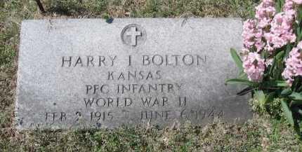 BOLTON, HARRY IVAN  (VETERAN WWII, KIA) - Chautauqua County, Kansas | HARRY IVAN  (VETERAN WWII, KIA) BOLTON - Kansas Gravestone Photos