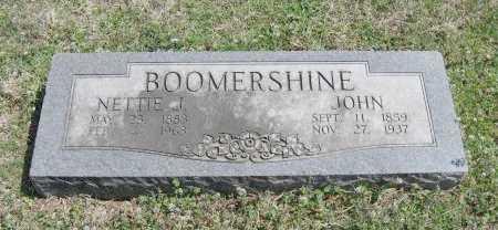 BOOMERSHINE, JOHN - Chautauqua County, Kansas | JOHN BOOMERSHINE - Kansas Gravestone Photos