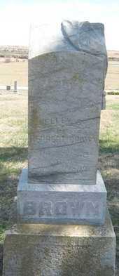 BROWN, ELLEN S - Chautauqua County, Kansas   ELLEN S BROWN - Kansas Gravestone Photos