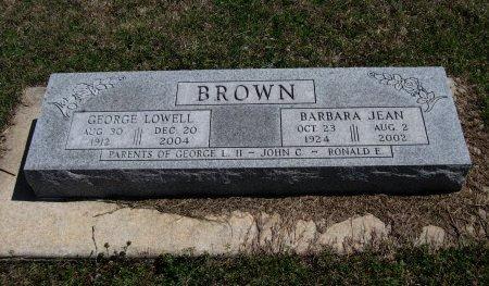 BROWN, GEORGE LOWELL - Chautauqua County, Kansas | GEORGE LOWELL BROWN - Kansas Gravestone Photos