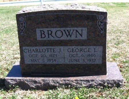 BROWN, GEORGE LUCAS - Chautauqua County, Kansas | GEORGE LUCAS BROWN - Kansas Gravestone Photos