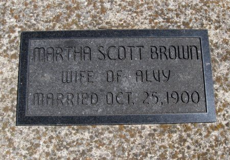 SCOTT, MARTHA CAROLINE - Chautauqua County, Kansas | MARTHA CAROLINE SCOTT - Kansas Gravestone Photos