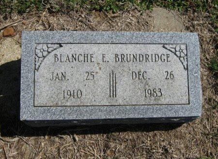 BRUNDRIDGE, BLANCHE E - Chautauqua County, Kansas   BLANCHE E BRUNDRIDGE - Kansas Gravestone Photos