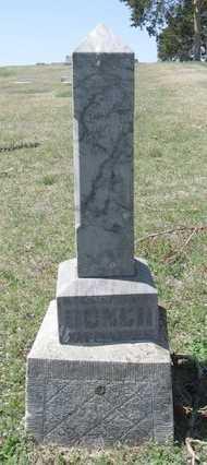 BUNCH, CORA L - Chautauqua County, Kansas | CORA L BUNCH - Kansas Gravestone Photos