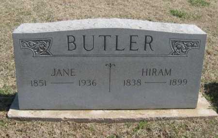 BUTLER, HIRAM - Chautauqua County, Kansas | HIRAM BUTLER - Kansas Gravestone Photos