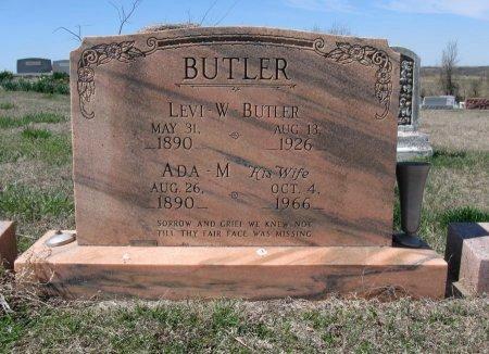 BUTLER, LEVI W - Chautauqua County, Kansas   LEVI W BUTLER - Kansas Gravestone Photos