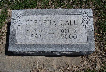 "CALL, CLEOPHA ""CLEO"" - Chautauqua County, Kansas   CLEOPHA ""CLEO"" CALL - Kansas Gravestone Photos"