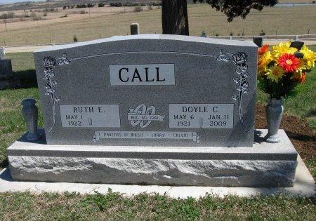 VANDERHOOF CALL, RUTH ELMA - Chautauqua County, Kansas | RUTH ELMA VANDERHOOF CALL - Kansas Gravestone Photos
