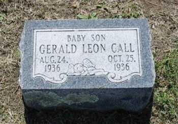 CALL, GERALD LEON - Chautauqua County, Kansas | GERALD LEON CALL - Kansas Gravestone Photos