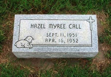 CALL, HAZEL MYREE - Chautauqua County, Kansas   HAZEL MYREE CALL - Kansas Gravestone Photos