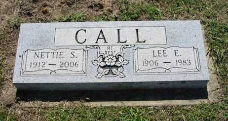 CALL, LEE EVERETT - Chautauqua County, Kansas | LEE EVERETT CALL - Kansas Gravestone Photos