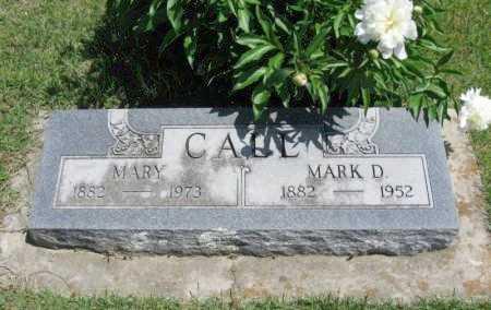 "CALL, MARQUIS DAVID ""MARK"" - Chautauqua County, Kansas   MARQUIS DAVID ""MARK"" CALL - Kansas Gravestone Photos"