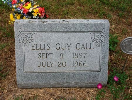 CALL, ELLIS GUY (VETERAN WWII) - Chautauqua County, Kansas   ELLIS GUY (VETERAN WWII) CALL - Kansas Gravestone Photos