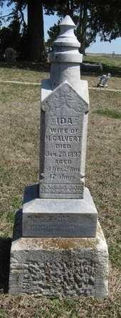 CALVERT, IDA - Chautauqua County, Kansas | IDA CALVERT - Kansas Gravestone Photos