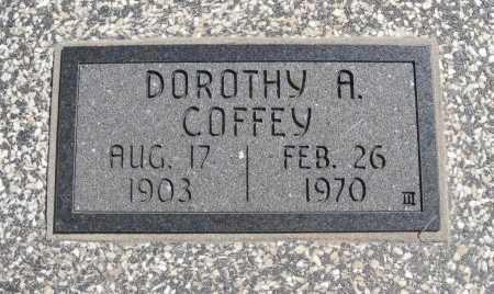 COFFEY, DOROTHY A - Chautauqua County, Kansas | DOROTHY A COFFEY - Kansas Gravestone Photos
