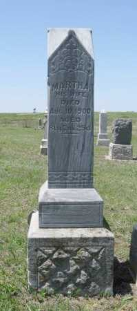 COLE, MARTHA - Chautauqua County, Kansas | MARTHA COLE - Kansas Gravestone Photos