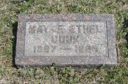 COUK, MAYME ETHEL - Chautauqua County, Kansas | MAYME ETHEL COUK - Kansas Gravestone Photos