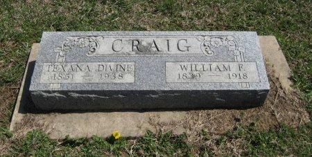 CRAIG, TEXANA DIVINE - Chautauqua County, Kansas | TEXANA DIVINE CRAIG - Kansas Gravestone Photos