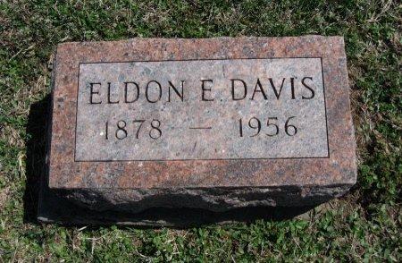 DAVIS, ELDON E - Chautauqua County, Kansas | ELDON E DAVIS - Kansas Gravestone Photos