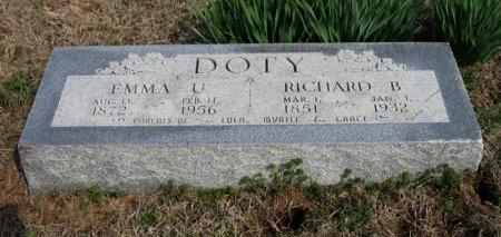CRISS DOTY, EMMA ULYSSIS - Chautauqua County, Kansas | EMMA ULYSSIS CRISS DOTY - Kansas Gravestone Photos