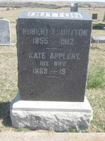 DUTTON, ROBERT L - Chautauqua County, Kansas | ROBERT L DUTTON - Kansas Gravestone Photos