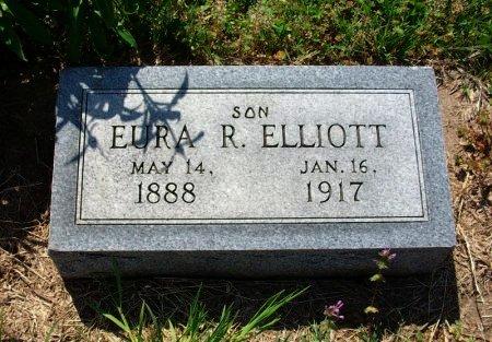 ELLIOTT, EURA R - Chautauqua County, Kansas | EURA R ELLIOTT - Kansas Gravestone Photos