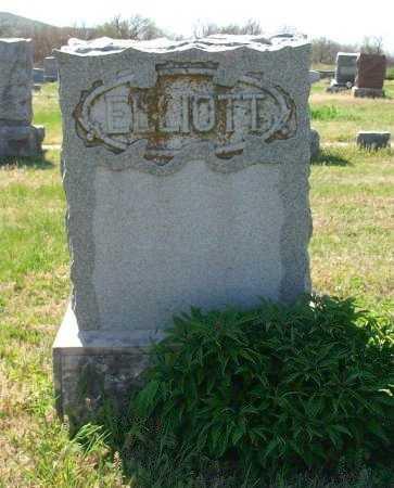 ELLIOTT, FAMILY STONE - Chautauqua County, Kansas | FAMILY STONE ELLIOTT - Kansas Gravestone Photos