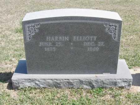 ELLIOTT, HARBIN - Chautauqua County, Kansas | HARBIN ELLIOTT - Kansas Gravestone Photos