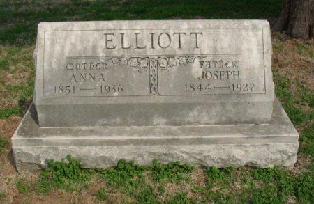 ELLIOTT, JOSEPH - Chautauqua County, Kansas | JOSEPH ELLIOTT - Kansas Gravestone Photos