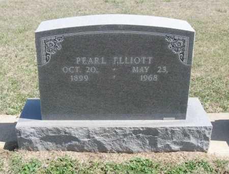 ELLIOTT, PEARL - Chautauqua County, Kansas   PEARL ELLIOTT - Kansas Gravestone Photos