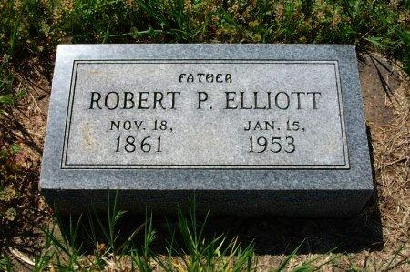 ELLIOTT, ROBERT P - Chautauqua County, Kansas   ROBERT P ELLIOTT - Kansas Gravestone Photos