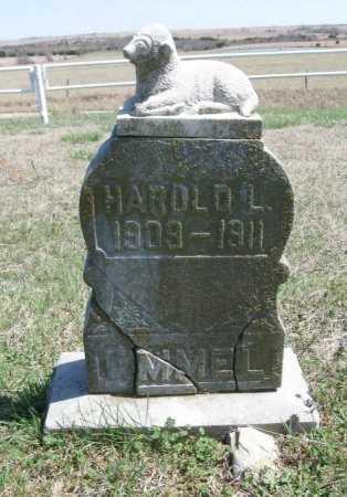 EMMEL, HAROLD L - Chautauqua County, Kansas | HAROLD L EMMEL - Kansas Gravestone Photos
