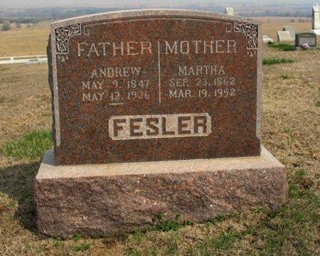 FESLER, MARTHA MERIAH - Chautauqua County, Kansas | MARTHA MERIAH FESLER - Kansas Gravestone Photos