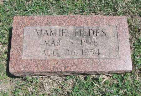 FILDES, MAMIE - Chautauqua County, Kansas   MAMIE FILDES - Kansas Gravestone Photos