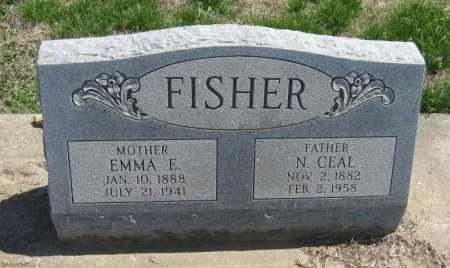 FISHER, EMMA E - Chautauqua County, Kansas   EMMA E FISHER - Kansas Gravestone Photos