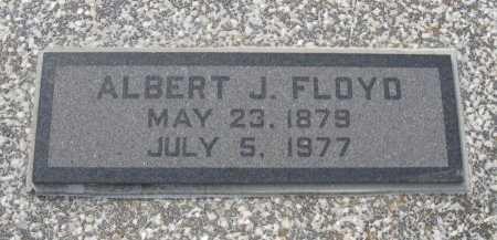 FLOYD, ALBERT JESSE - Chautauqua County, Kansas | ALBERT JESSE FLOYD - Kansas Gravestone Photos