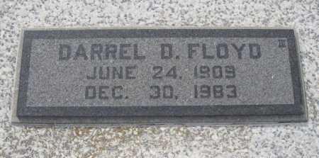 FLOYD, DARREL D - Chautauqua County, Kansas | DARREL D FLOYD - Kansas Gravestone Photos