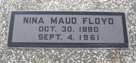 FLOYD, NINA MAUD - Chautauqua County, Kansas   NINA MAUD FLOYD - Kansas Gravestone Photos