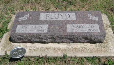 FLOYD, GLEN MARTIN (VETERAN WWII) - Chautauqua County, Kansas | GLEN MARTIN (VETERAN WWII) FLOYD - Kansas Gravestone Photos