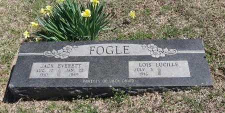 FOGLE, LOIS LUCILLE - Chautauqua County, Kansas   LOIS LUCILLE FOGLE - Kansas Gravestone Photos