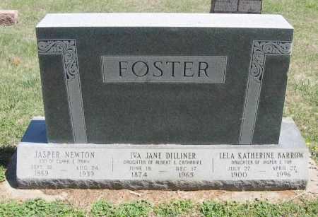 FOSTER, IVA JANE - Chautauqua County, Kansas | IVA JANE FOSTER - Kansas Gravestone Photos