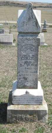 FOSTER, JOHN W - Chautauqua County, Kansas   JOHN W FOSTER - Kansas Gravestone Photos