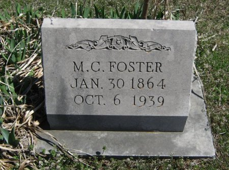 FOSTER, M C - Chautauqua County, Kansas | M C FOSTER - Kansas Gravestone Photos