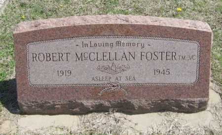 FOSTER, ROBERT MCCLELLAN (VETERAN WWII, MIA) - Chautauqua County, Kansas   ROBERT MCCLELLAN (VETERAN WWII, MIA) FOSTER - Kansas Gravestone Photos