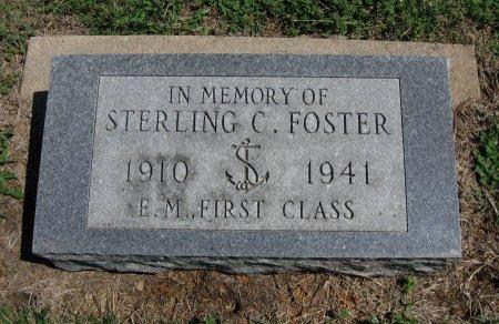 FOSTER, STERLING CECIL (VETERAN WWII, KIA) - Chautauqua County, Kansas | STERLING CECIL (VETERAN WWII, KIA) FOSTER - Kansas Gravestone Photos