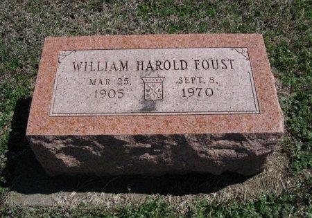 FOUST, WILLIAM HAROLD - Chautauqua County, Kansas   WILLIAM HAROLD FOUST - Kansas Gravestone Photos
