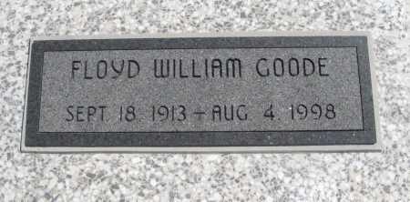 GOODE, FLOYD WILLIAM - Chautauqua County, Kansas   FLOYD WILLIAM GOODE - Kansas Gravestone Photos