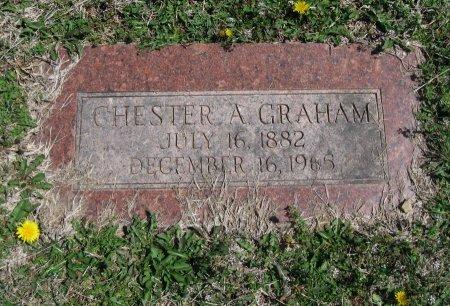 GRAHAM, CHESTER ARTHUR - Chautauqua County, Kansas   CHESTER ARTHUR GRAHAM - Kansas Gravestone Photos